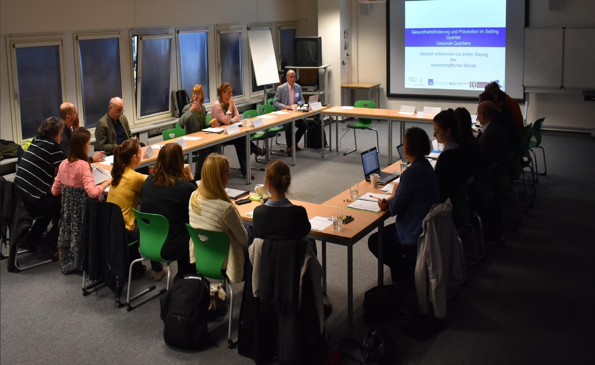 Erstes Beiratstreffen, Foto: Saskia Beuchel